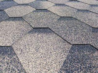 A shingle roof in Carolina Beach, NC